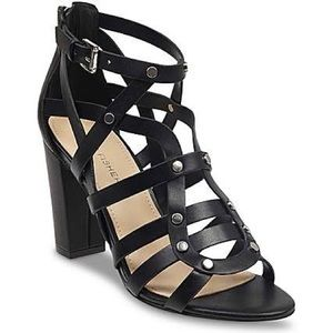 Marc Fisher Caged sandals black size 8.5